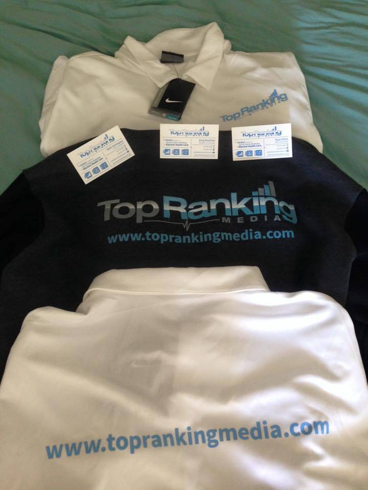 Top Ranking Media Clothing and Cards